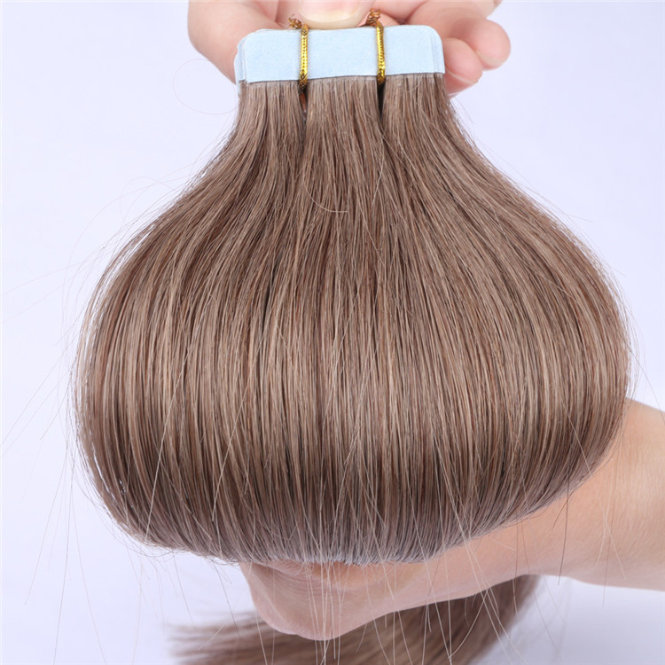 factory price double drawn tape in hair extension factory QM085